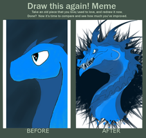 Draw this again! by Roguein