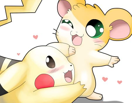 Hamster Buddy! I missed you! by Tigara-Chan