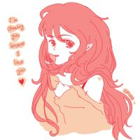 Im chewing you because I love you by iiping