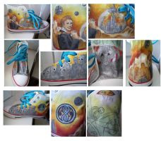 Doctor Who Fan Shoe - righ one by Elbi-Maku