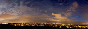 Night panorama by awropa