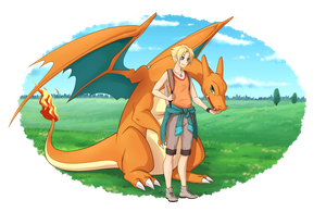 Charizard, I choose you! by Wild-sin