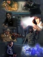 Photoshop project 8. CoD Zombies by RockDaVote