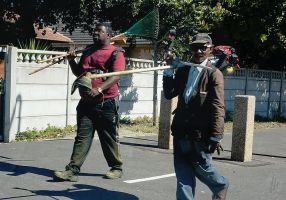 Gardening Service on the move by AfricanObserver