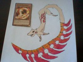 Fencing Fire Ferret from Yugioh by LizzyCatz