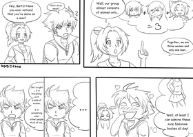 Bartz is a pervert by cocosnowlo