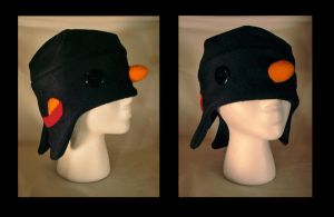 Black Bird Hat by NinaKanti