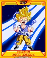 DBGT-Kid Goku SSJ2 by el-maky-z