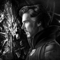 Benedict Cumberbatch dr strange Drawing by JoeDieBestie