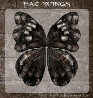 3D Fae Wings 7 by zememz