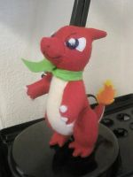 Charmeleon Plush by Vulpes-Canis
