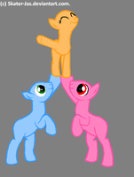 Another pony base~ by goggle--boy