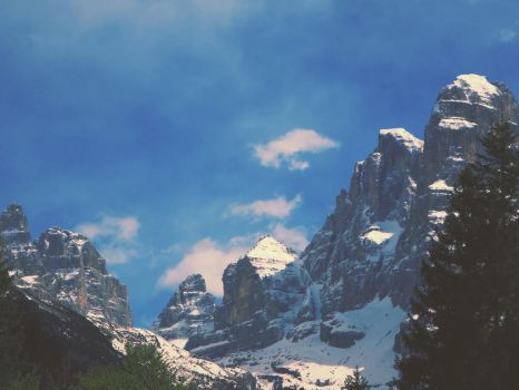 The Dolomites, Trentino by fables1111
