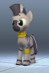 Test 3d Pony by AI-battle-programer