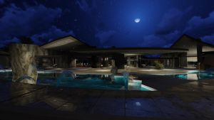 Dream Home Sketchup and Lumion Moon Light by firstliight