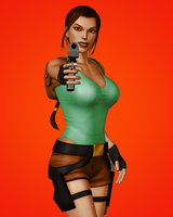Cartoon Lara 2 by tombraider4ever