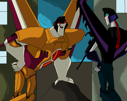 TFA-Meeting Sunstorm by TFAfangirl14