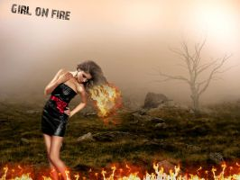 Girl On Fire by AlyssaStar109