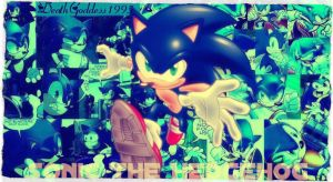Archie Sonic The Hedgehog by DeathGoddess1995