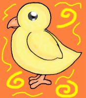 Chico the chick by Wizzkiddy