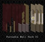 Furcadia Walls - Pack 01 by PointyHat