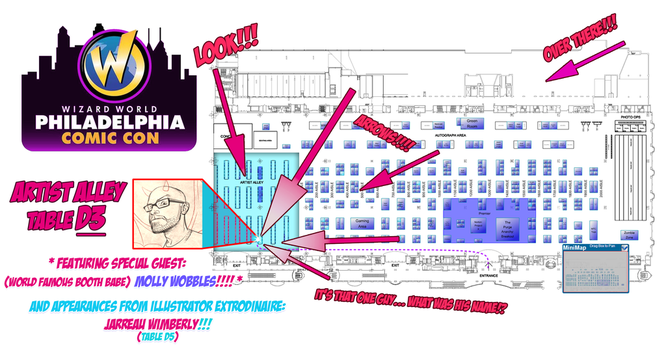 WWPhilly 2014 Map Promo by capprotti