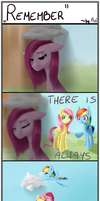 Someone who cares... Short comic, Pinkamena by AviAlexis25