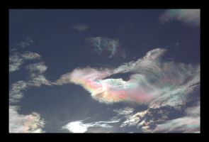 lustrous iridescent clouds by endure