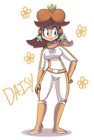 Racer Daisy by pc-engine
