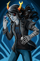 Vriska Serket by LittleMeesh