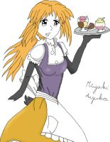 Eleonora's life:waitress-NOT FINNSHED YET- by Agi6