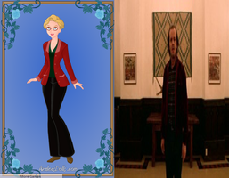 Marilyn As Jack Torrence from The Shining by Colleen15
