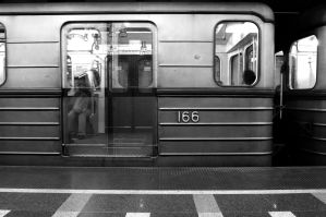 Ghost door of the metro by Seth890603