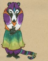 Coati Fursuit Concept by TigrisTheLynx