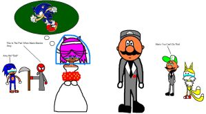 Mario And Amy's Wedding by sc1614