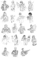 RD's Elements: Site Sketches by Tomecko