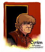Tyrion Lannister by AndrewKwan
