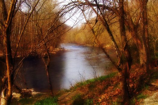 Riverscene II by touch-the-flame