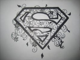 Superman Logo :3 by MrsHarleenQuinnzel