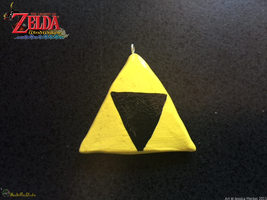 Triforce Charm by MeckelFoxStudio