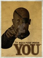 Sgt. Nick Fury Needs You! by tclarke597
