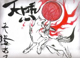 Okami by DigitalYuki