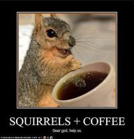 Squirrles+Coffie by Wicker123