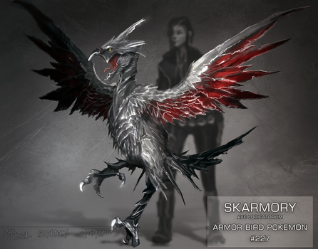 Skarmory - Revisit by Jack-Kaiser