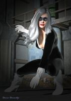 Black Cat by donnaDomenitzo