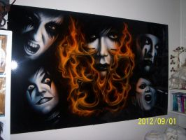 My BVB Wall by vaam-chan