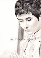 Ryeowook so serious by SuperLiM