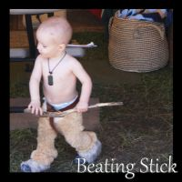 Satyr Beating Stick by fairydustgems