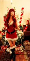 Candy Cane Miss Fortune - Merry Xmas! by KawaiiTine