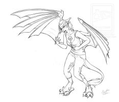 Nolhyaa Dragon Transformation .: Commssion :. by Janexas
